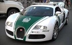 Bugatti Veyron Dubai Police Supercar Fleet