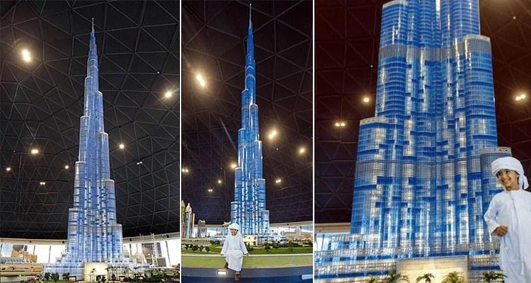 burj khalifa tallest lego structure