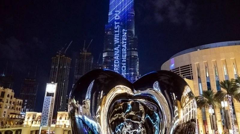 burj khalifa proposal