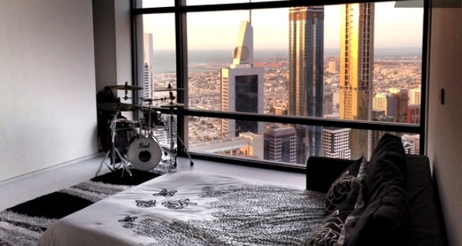 View from Burj Khalifa Room