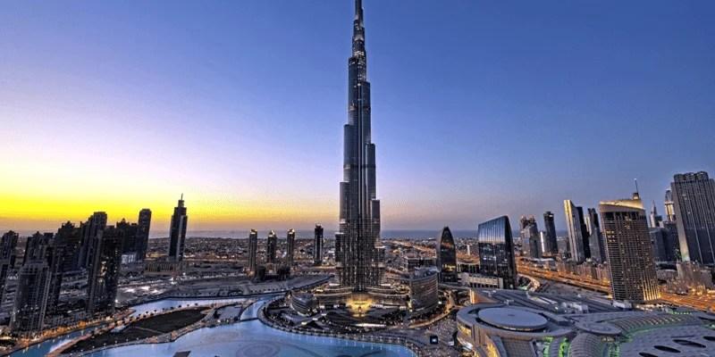 Burj Khalifa 360 View