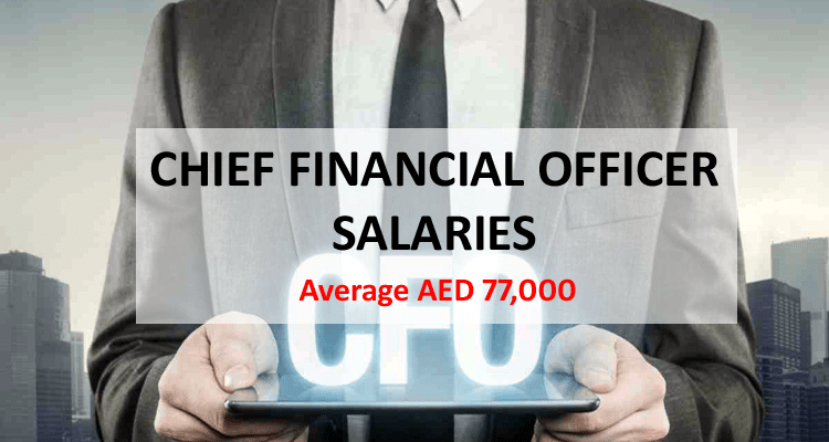 Chief Financial Officer Salary Dubai