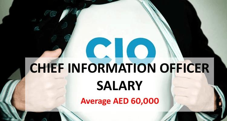 Chief Information Officer CIO salary in Dubai
