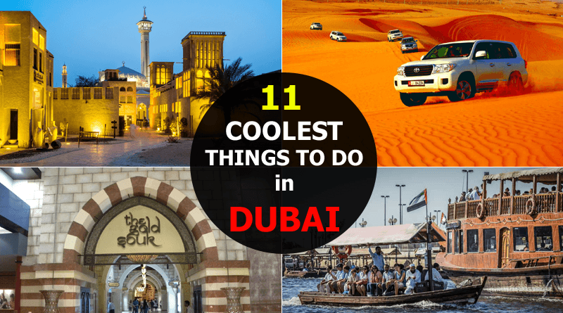 Cool Things to do in Dubai