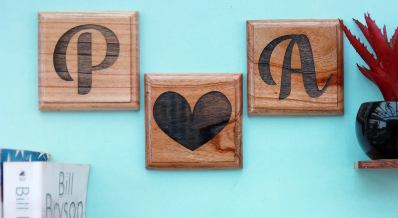 Customized Valentines Wall Art Gift