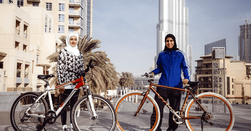 Amateur Cycling in Dubai