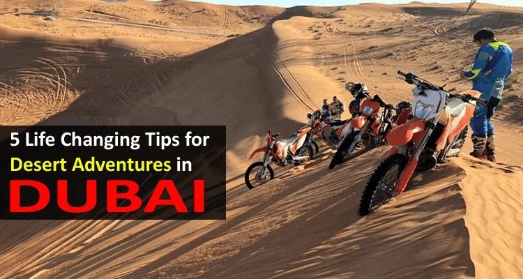 Desert Adventures in Dubai