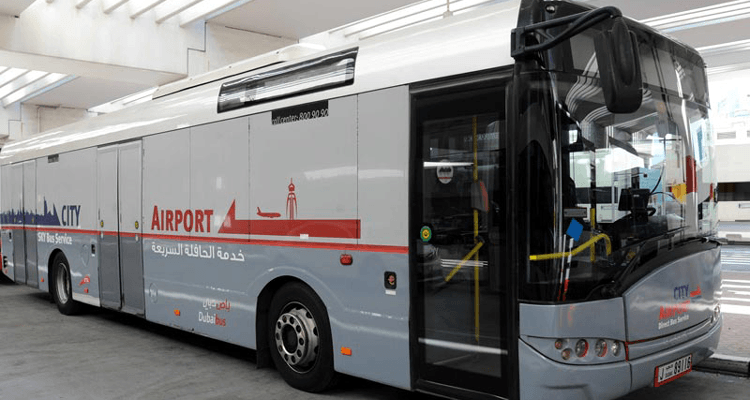 Free Bus Shuttle from Dubai Airport