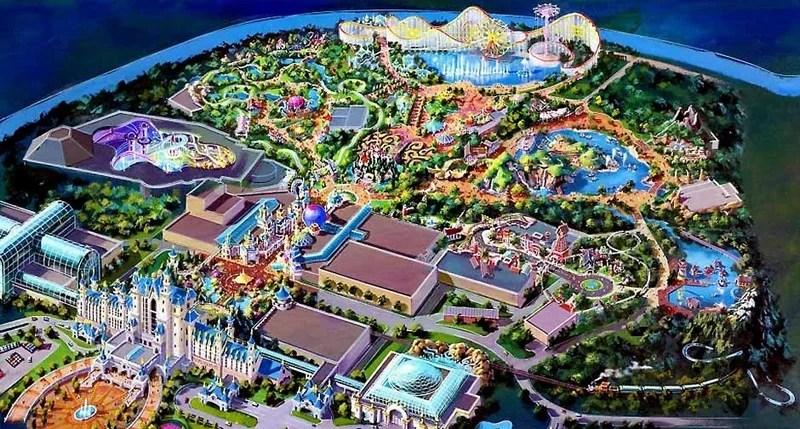 Dubai Theme Parks Project