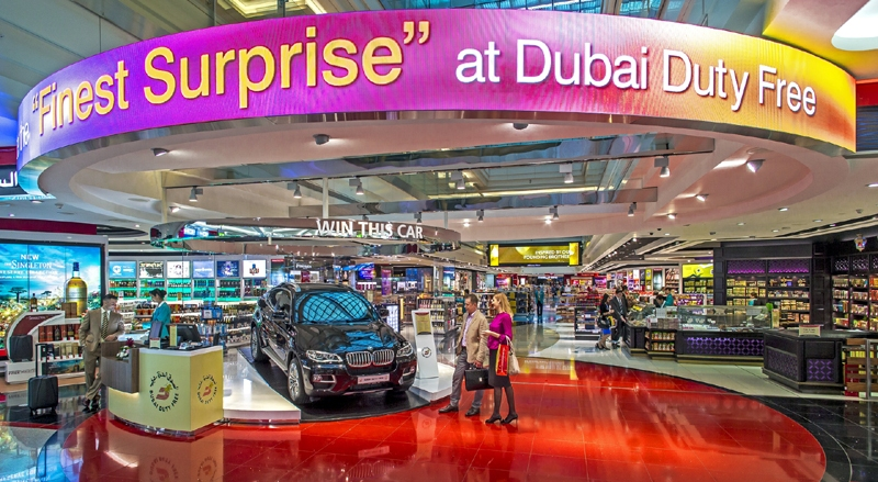 Duty Free Shops in Dubai