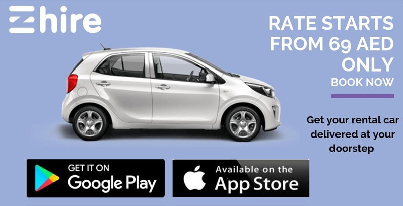 eZhire Mobile App Rent a Car