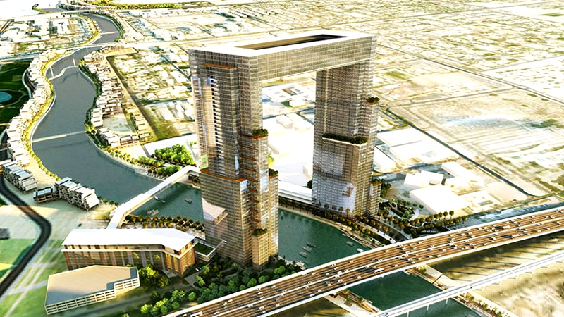 The Gate Tower - Dubai Water Canal Project