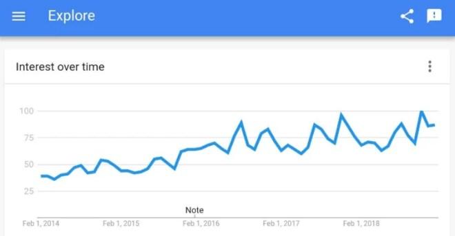 Throw Pillows Google Trends