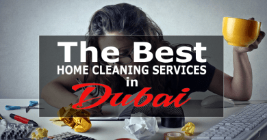 Home Cleaning Services in Dubai