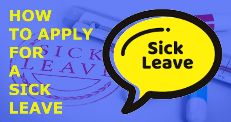 How to Apply for Sick Leave