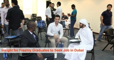 Fresh Graduates seek Jobs in Dubai