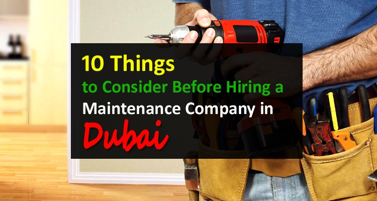 Maintenance Company in Dubai