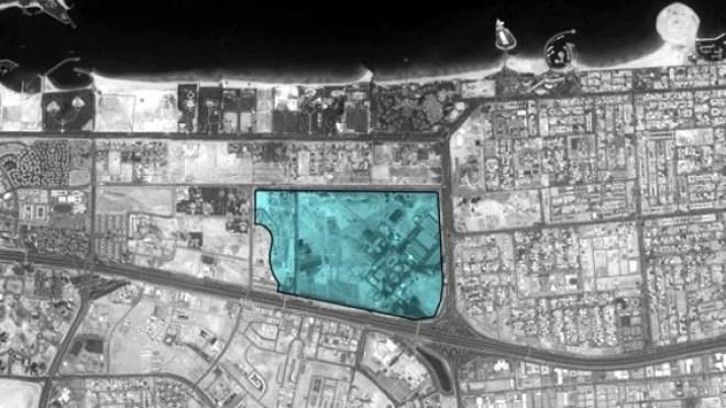 Mall of the World Dubai Location