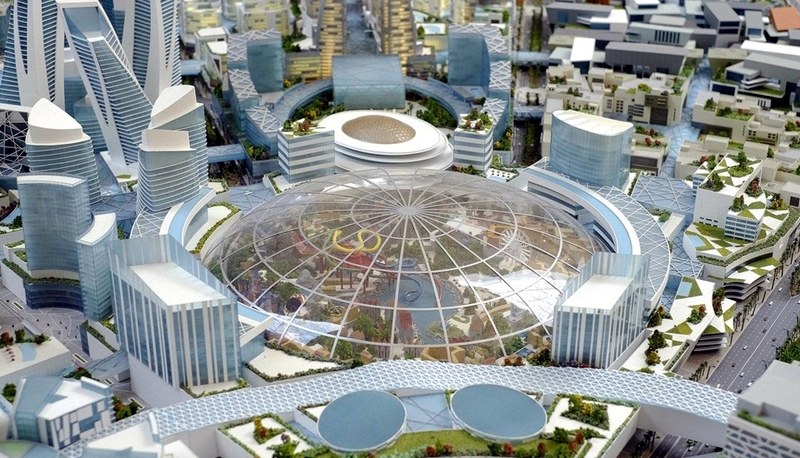 Mall of the World Dubai Project