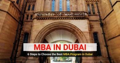 MBA Program in Dubai