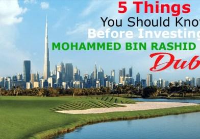 Mohammed Bin Rashid City Dubai