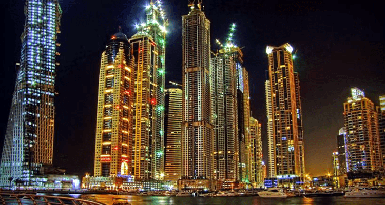 Night Life in Dubai