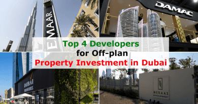 Top 4 Developers for Off-plan Property Investment in Dubai