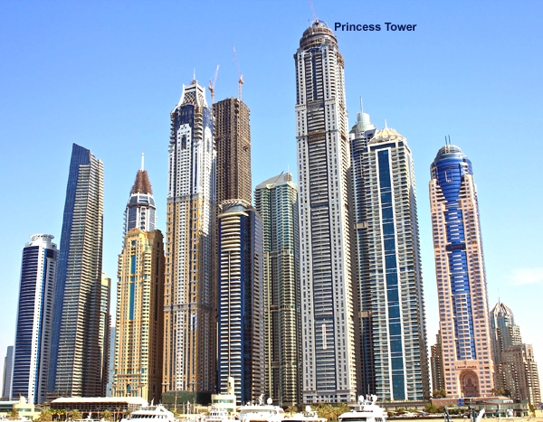 Princess Tower Dubai Worlds tallest residence