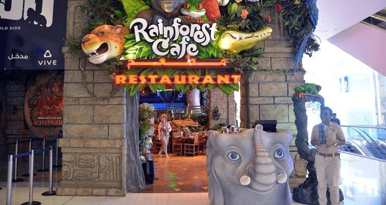 Rainforest Cafe in Dubai
