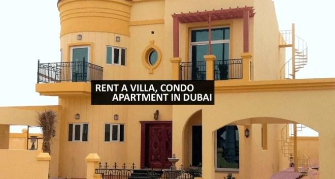 Rent an Apartment or Villa in Dubai