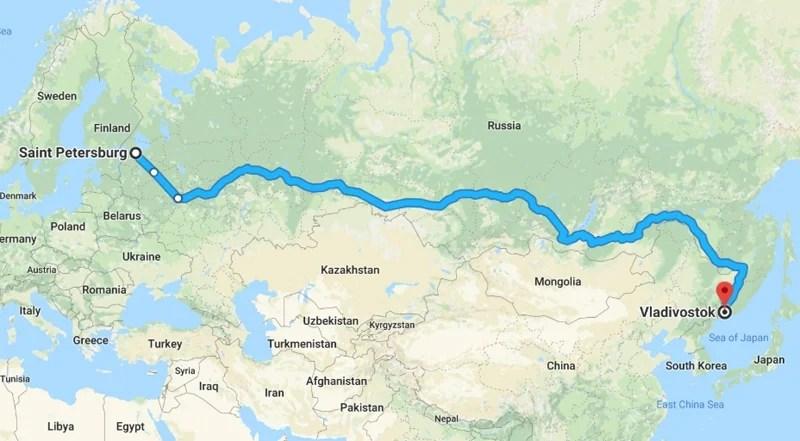 Trans Siberian Highway