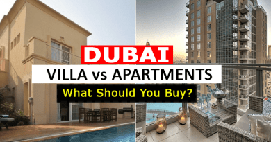 Dubai Villas vs Apartments