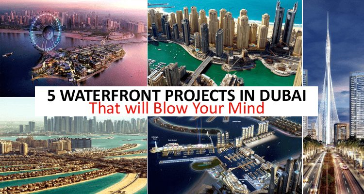 Waterfront Projects in Dubai
