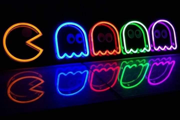 Neon Pacman