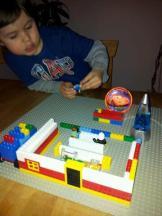Förberedelser: teaterbygge i LEGO