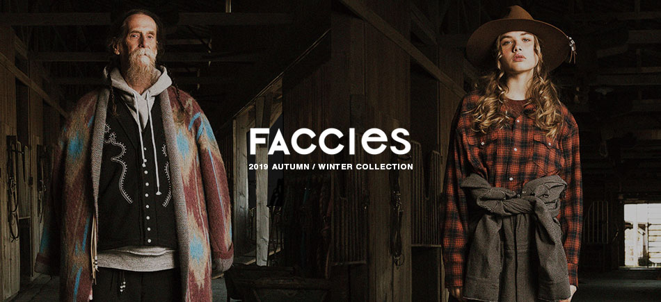 【FACCIES】NEW SELECTED!!