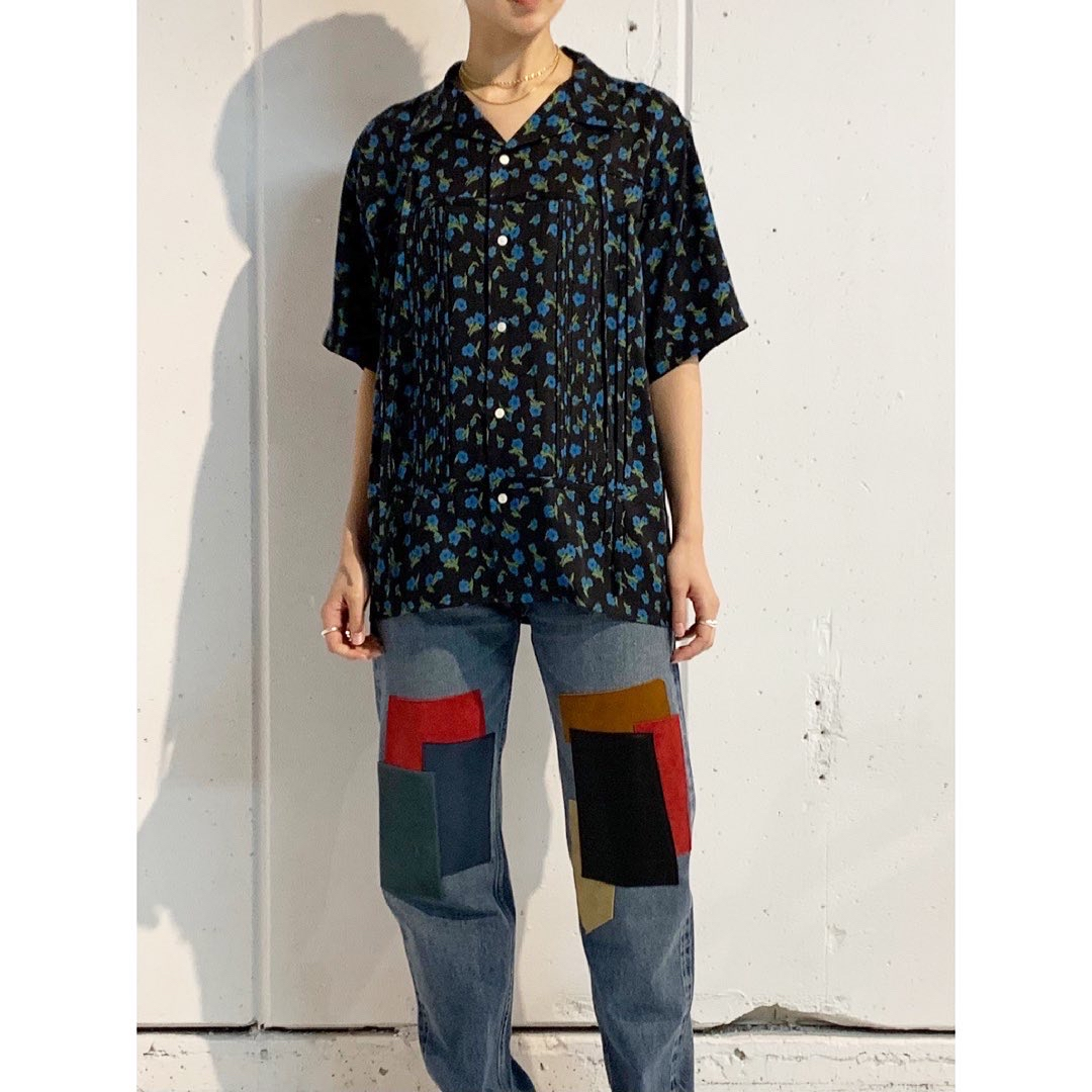 "【DAIRIKU】""Wyatt"" Open collar Shirt"