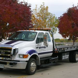Ford F650 flatbed