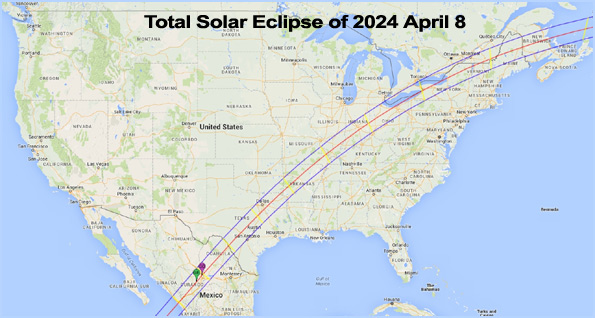 Solar Eclipse April 8, 2024 proves globe earth The pattern of the upcoming total solar eclipse on 08/21/17 can be explained with the globe Earth, but not on the supposed flat earth model.
