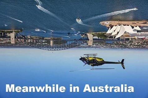 Meanwhile in Australia flat earth meme
