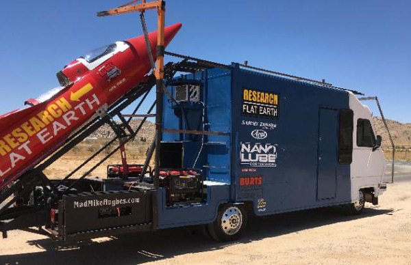 Flat Earth Rocket Motor Home