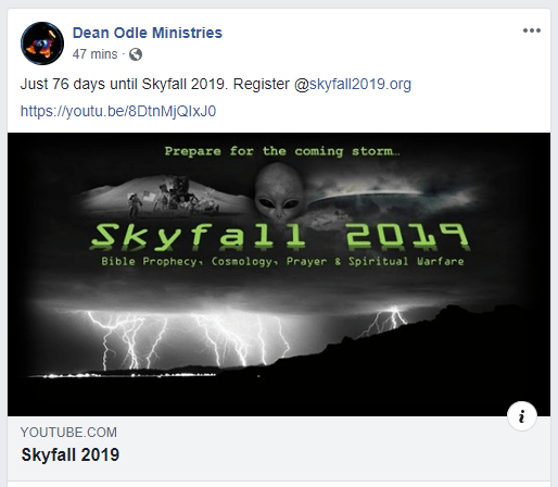 Skyfall 2019 with Nathan Roberts and Pastor Dean Odle