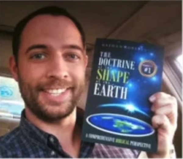ScimanDan points to Nathan Roberts and says publishing a book doesn't mean that you know anything about earth science