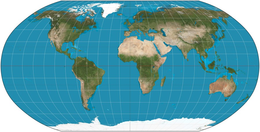 The world map fraud     Flat Earth Disclosure Robinson projection SW