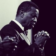 Pastor Adeboye Praying