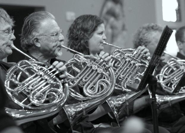 french horn players of the FCO