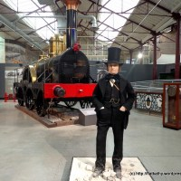 We let off some steam at the Great Western Railway museum in Swindon
