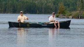 The pleasantries of fishing