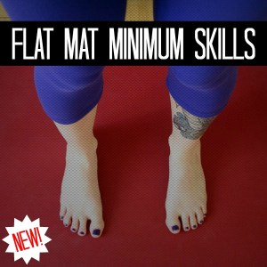 NEW Flat Mat Minimum Skills