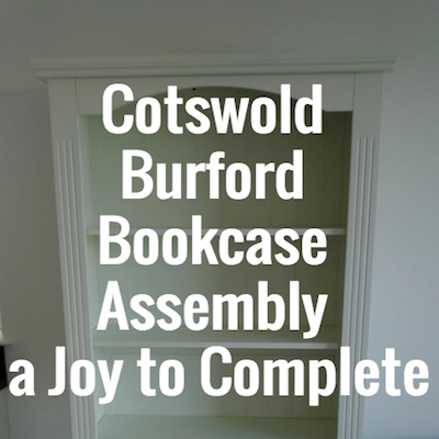 Cotswold Burford Bookcase Assembly